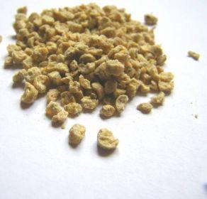 Pijesak je u obliku granula.